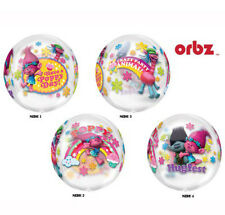 "Trolls ORBZ 16"" Balloon Girls Boys Birthday Party Decoration Supplies Poppy"