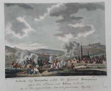 Neerwinden slag 1793 MOOIE kopergravure