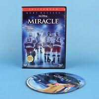 Miracle Walt Disney DVD - (Hockey USA Olympics Kurt Russell) - Bilingual