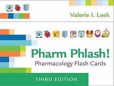 Pharm Phlash! : Pharmacology Flash Cards by Valerie I. Leek (2017,...