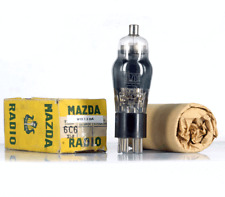 6C6/UZ6C6 MAZDA NOS FRANCE Tube Röhren Lampe TSF  Valve 진공관 真空管 Valvola