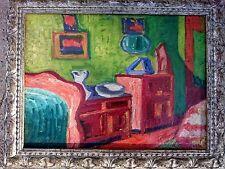 ZYGMUNT LANDAU ( POLISH , FRENCH 1898 - 1962) XXth CENTURY EXPRESSIONIST OIL PAI