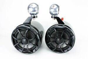 """Wet Sounds  6.5"""" Wakeboard Tower Speakers  Black  NEW!!"""