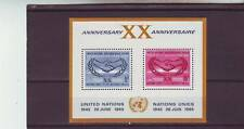 a122 - UNITED NATIONS - SGMS145 MNH 1965 INTERNATIONAL CO-OPERATION YEAR