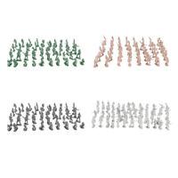 400 Pieces 2cm Plastic Toy Soldier Figurs Army Men Accessories
