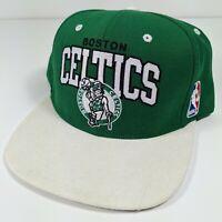 NBA Boston Celtics Cap Hat Adult Snapback Mitchell & Ness Wool Hardwood
