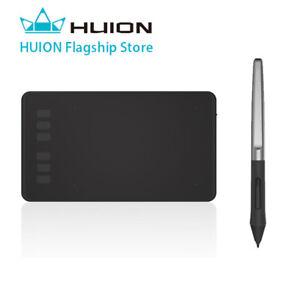 Huion H640P Tableta Gráfica de Dibujo Lápiz Óptico Sin Batería Tableta con 8192