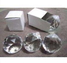 5pcs 30mm transparent ball lighting crystal bead curtain pendant lobbing crys