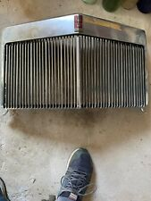Lincoln Mark III Upper Center Grill Vintage