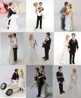 Bride Groom Resin Wedding Cake Topper Couple Figurine Romantic Decoration Favor