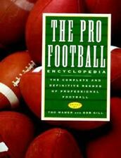 Pro Football Encyclopedia : The Complete and Definitive Record of Prof-ExLibrary