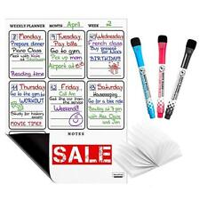 MAGNETIC WEEKLY DRY ERASE BOARD CALENDAR BY NEVOPROD