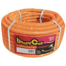 Corrugated conduit 20mm x 20mtr roll orange heavy duty