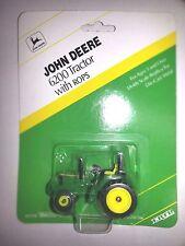 Ertl John Deere 6200 tractor ROPS new blister pack 1:64 #5733 Die Cast Miniature