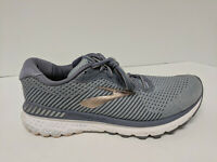 Brooks Adrenaline GTS 20 Running Shoes, Grey/Peach/White, Womens 10.5 Narrow