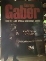NO CD/LP - GIORGIO GABER - cartonato pubblicitario rigido - COLLEZIONE 1970-2000