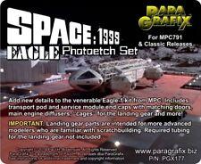 Espacio paragrafix PGX177 1999 Eagle photoetch Set para MPC791 & Clásico