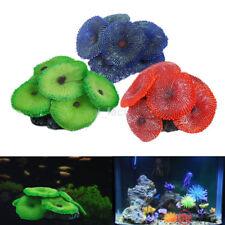 Beautiful Soft Artificial Coral Resin Plant Aquarium Fish Tank Ornament Decor US