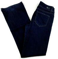 Paige Women's Jeans Size 30 Hidden Hills Boot Cut Dark Wash Stretch Blue Denim