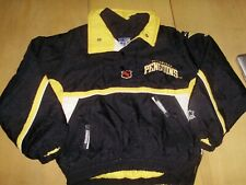 VINTAGE 1990's PITTSBURGH PENGUINS STARTER JACKET youth kids medium