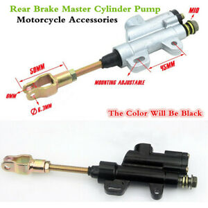 Universal Motorcycle Dirt Bike ATV Rear Brake Master Cylinder Pump Accessories
