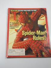 Time Magazine- Spider-Man Rules!: Blockbuster Movie Summer- May 20, 2002