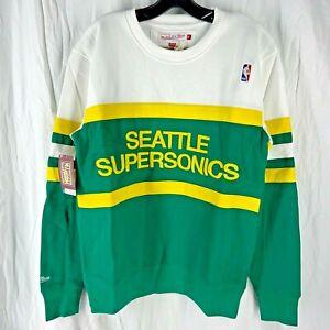 Mitchell & Ness NBA Seattle Supersonics Head Coach Sweatshirt M, L, XL