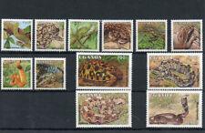 Ugandan Snakes Postal Stamps