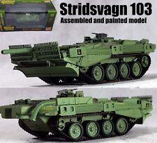 Stridsvagn STRV 103 S-Tank Swedish unconventional MBT 1/72 no diecast Easy model
