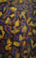 Antonio Marchetti - Tecnica mista su tela - cm 119 x 80 - Anno 1990 - Certicato