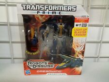 HASBRO TRANSFORMERS PRIME ROBOTS IN DISGUISE VOYAGER CLASS DREADWING FIGURE NEW