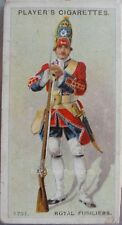 No.62 ROYAL FUSILIERS 1751 - Regimental Uniforms 2nd Series, Player 1913