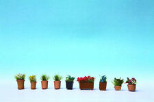 Noch 14031 - Pre-Painted Plants in Pots Scenic Item 1/87th = 'H0' Gauge 1st Post