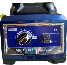 Ninja Blender Motor Ultima BL810 1500Watt Variable Power Base 2.5HP Works A+