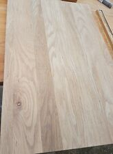 Solid oak table top 800 x 650 x 30mm