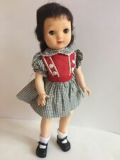 "Vintage Antique IDEAL Toy Corp Besty McCall Doll 14"" P-90 Original Clothes Shoes"