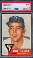 1953 Topps Jim Rivera #156 PSA 7.5