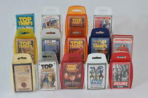 Top Trumps Job Lot Lord of The Rings, Narnia, Harry Potter, & More x14