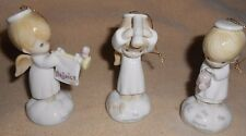 PRECIOUS MOMENTS ENESCO 1994 RETIRED ANGELS CHRISTMAS ORNAMENTS LOT