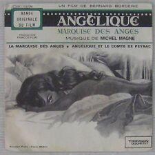 Michel Magne Hossein Mercier 45 Tours  Angélique