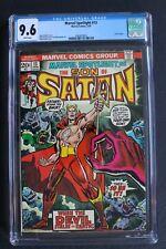MARVEL SPOTLIGHT #13 ORIGIN 1st Color SATANA 1974 Son of Satan HULU TV CGC 9.6