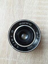 INDUSTAR-69 2,8/28 USSR SOVIET WIDE ANGLE LENS M 39