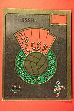 Panini ITALIA 90 N. 133 SSSR BADGE VERY GOOD / MINT CONDITION!!