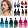 Fashion Women Bohemian Earring Long Tassel Fringe Boho Dangle Earrings Jewelry