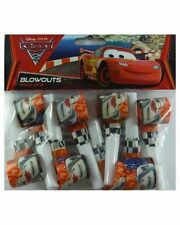 Disney Cars 2 Birthday Party Supplies Blowouts Fun Game- Pack of 8