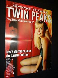 david lynch TWIN PEAKS  affiche cinema