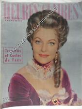 Revue HEURES CLAIRES magazine 157 de FEVRIER 1960 travestis et contes de fées