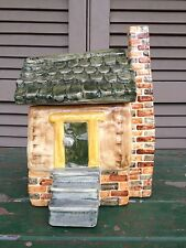 Shearwater Pottery Cabin House Cookie Jar Mississippi