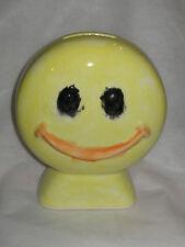 Happy Face Coin Bank (SMILE)