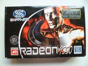 ATI Sapphire Radeon 9550 256DDR memory Video Graphics Card